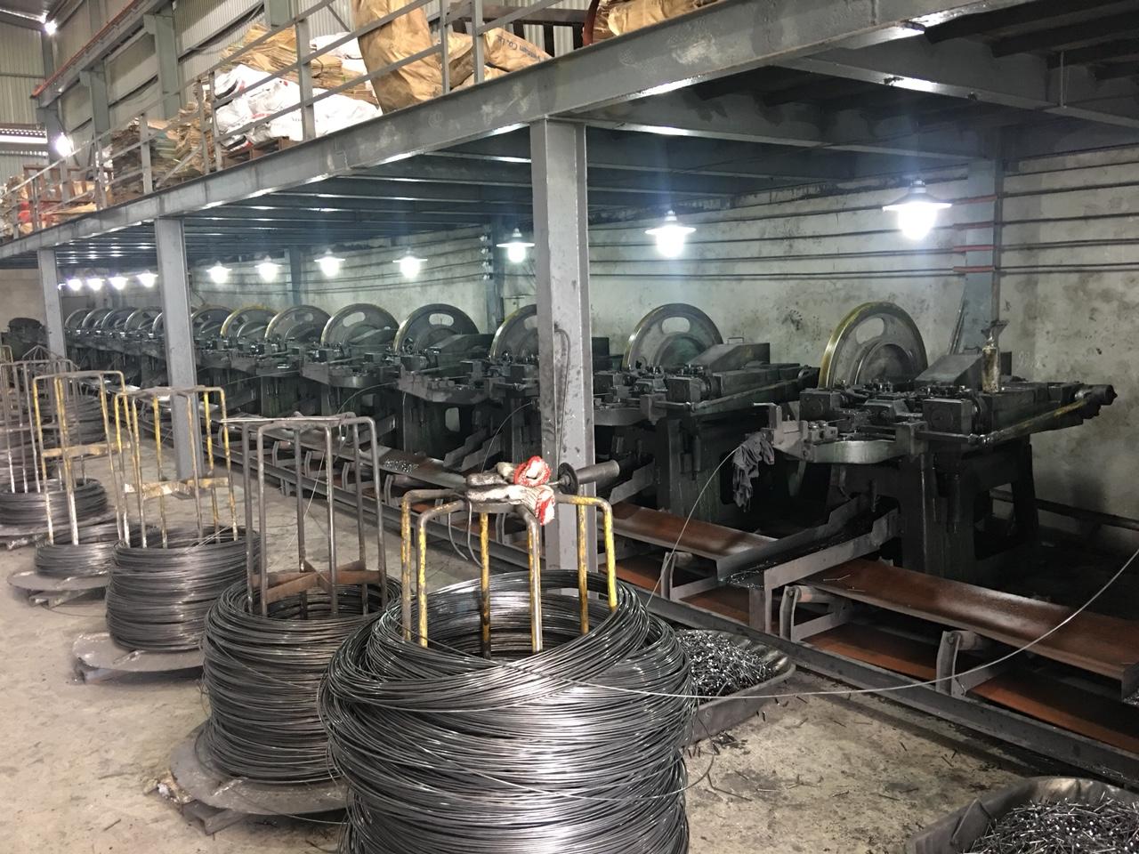 Nhà máy sản xuất đinh công nghiệp